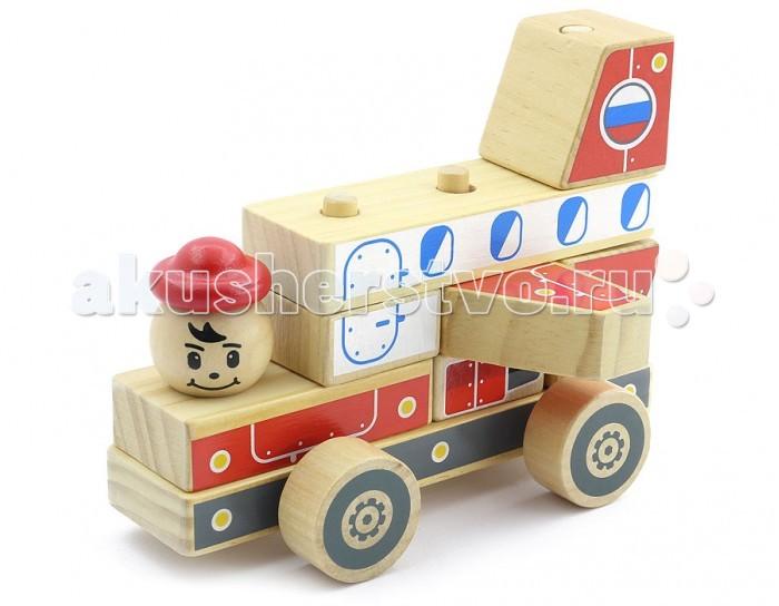 Каталка-игрушка МДИ Автомобиль-конструктор 4