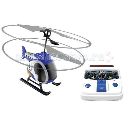 Silverlit Моя первая вертолетная станцияМоя первая вертолетная станцияSilverlit Моя первая вертолетная станция - этим полицейским вертолетом могут управлять самые юные любители игрушек на дистанционном управлении.   Небольшой, но маневренный вертолетик оснащен пультом, на котором располагаются датчики скорости, высоты и направления полета. Защищенные лопасти позволяют запускать игрушку в домашних условиях - вреда не будет ни вертолету, который сделан из ударопрочного пластика, ни обоям.  Световые и звуковые эффекты сделают игру еще более яркой.  Время полета: 5 минут. Время зарядки аккумулятора вертолета: 30 минут.<br>