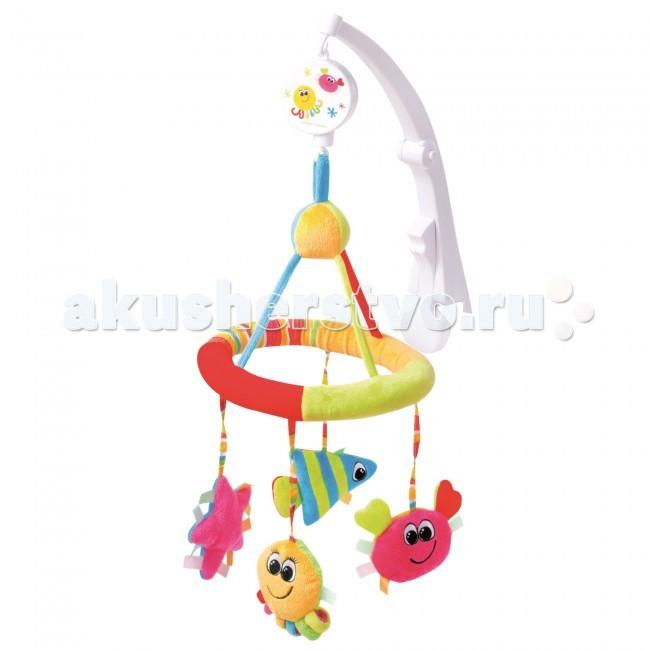 Мобиль Canpol Музыкальная карусель Colorful ocean 68/021