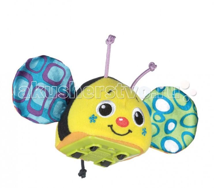 Развивающая игрушка Playgro Инерционная ПчелкаИнерционная ПчелкаРазвивающая игрушка Playgro Инерционная Пчелка. У пчелки шуршат крылышки.   Оттягивая и запуская машинку, малыш будет познавать причинно-следственные связи, учиться понимать природу движущихся объектов и пространственные отношения, а также тренировать когнитивные навыки.<br>