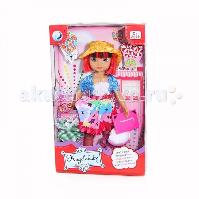 Angelababy Кукла Таня 40 смКукла Таня 40 смКукла Angelababy Таня 40 см с аксессуарами.  Такая куколка обязательно понравится любой маленькой моднице! Ей можно придумывать новые наряды и делать разные прически.<br>