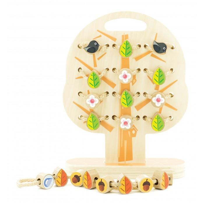 Деревянная игрушка МДИ Дерево-шнуровка