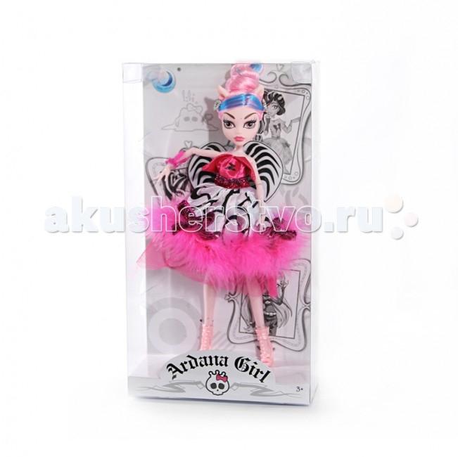 Ardana Girl Кукла Санта 26 смКукла Санта 26 смКукла Ardana Girl Санта 26 см - станет прекрасным подарком для Вашей девочки.   Особенности: Необычная кукла одета в современную модную одежду, а её волосы уложены в оригинальную причёску.  Кукла Санта - не обычная кукла у которой розовые волосы, что делает её похожей на героиню волшебных сказок.  У куклы подвижные ноги и руки.<br>