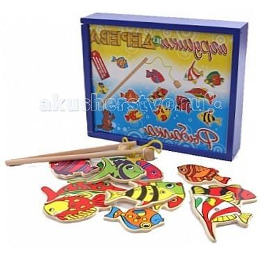 Деревянная игрушка МДИ Набор рыбалка Д183 от Акушерство