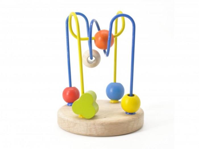 Деревянная игрушка МДИ Лабиринт № 4Лабиринт № 4Деревянная игрушка МДИ Лабиринт № 4.  Моторичный лабиринт - это название говорит само за себя. Чтобы пальчики бали ловкими, умелыми и сильными нужно их тренировать с самого малого возраста. Ко времени, когда малыш возьмет в руку свой первый карандаш мелкая моторика трех пальчиков, участвующих в процессе письма и рисования, должна быть уже развита.   И именно для этого и созданы моторичные лабиринты. Они заставляют пальчики крохи усердно трудиться, передвигать бусинки по проволочкам. Бусинки разной формы, размера и цвета. А это означает, что такой лабиринт способствует еще и сенсорному развитию ребенка.  Размер игрушки 9 х 9 х 12 см Размер бусинок от 0,7 до 1,5 см бусинки не снимаются!<br>