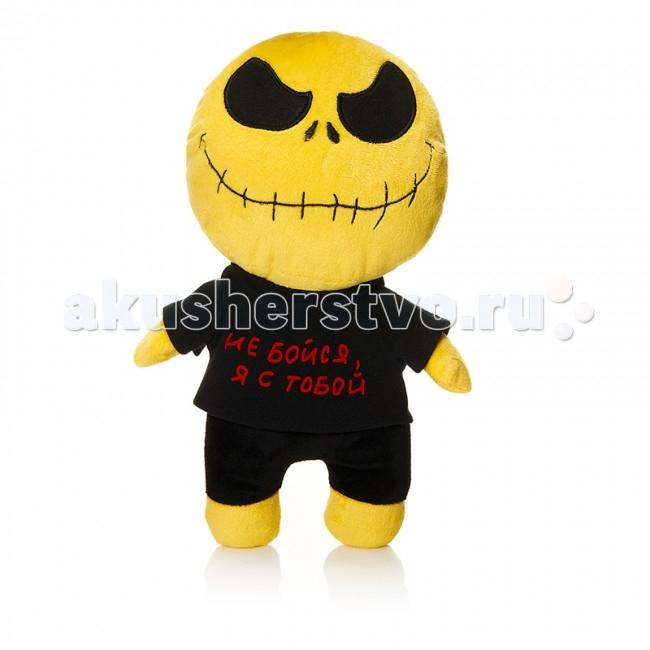 Мягкая игрушка Mr.Smile Смайл Не бойся, я с тобой 30 смСмайл Не бойся, я с тобой 30 смМягкая игрушка Mr.Smile & Friends Смайл Не бойся, я с тобой 30 см от которой ваш ребенок придет в восторг. Она изготовлена из безопасных высококачественных синтетических материалов, которые абсолютно безвредны для ребенка.   Особенности: Модель способствует развитию у детей воображения, усидчивости, тактильной  Компактную и легкую игрушку малыш всегда сможет брать с собой на прогулку. Крепкие швы надежно удерживают набивку игрушки внутри.  Такой очаровательный добродушный смайлик окажется хорошим подарком не только детям, но и взрослым.  Состав: мех искусственный, трикотажный, волокно полиэфирное.<br>