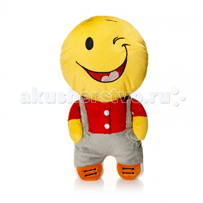 Мягкая игрушка Mr.Smile Смайл Свой парень 30 смСмайл Свой парень 30 смМягкая игрушка Mr.Smile & Friends Смайл Свой парень 30 см от которой ваш ребенок придет в восторг. Она изготовлена из безопасных высококачественных синтетических материалов, которые абсолютно безвредны для ребенка.   Особенности: Модель способствует развитию у детей воображения, усидчивости, тактильной  Компактную и легкую игрушку малыш всегда сможет брать с собой на прогулку. Крепкие швы надежно удерживают набивку игрушки внутри.  Такой очаровательный добродушный смайлик окажется хорошим подарком не только детям, но и взрослым.  Состав: мех искусственный, трикотажный, волокно полиэфирное.<br>