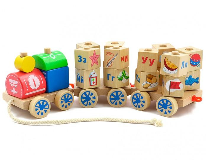Деревянная игрушка МДИ Паровозик Алфавит от Акушерство
