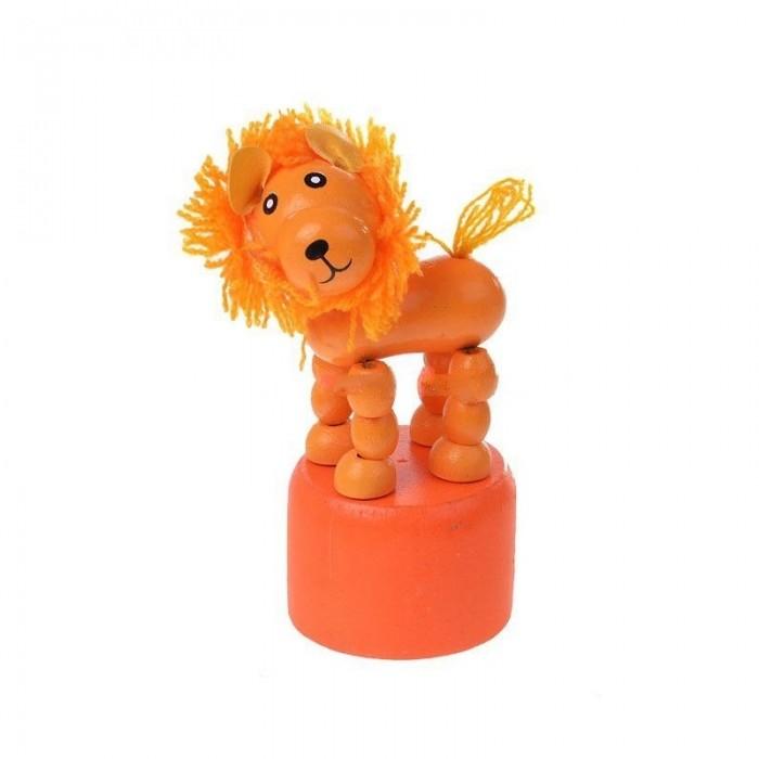 Деревянная игрушка МДИ Дергунчик ЛевДергунчик ЛевДеревянная игрушка МДИ Дергунчик Лев 12 шт. в упаковке.  Детские игрушки из дерева таят в себе глубокий смысл, это единение с природой, и ваш оберег. Деревянные детские игрушки раскрывают сказочный мир, который живет внутри нас, вместе с ними сказка оживает. Дергунчик покрыт стойкими и безопасными красками на водной основе, соответствующими самым высоким санитарно-гигиеническим требованиям.<br>