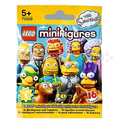 Конструктор Lego Минифигурки серия 16