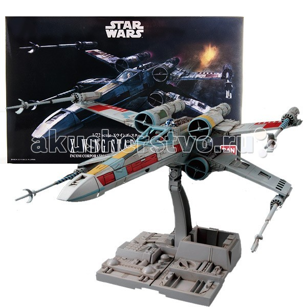 Star Wars Bandai �������� ����� ������� ������ ����������� X-Wing Fighter 1:72