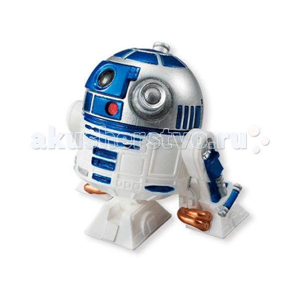 Star Wars Bandai Звездные Войны Сборная модель Фигурка R2-D2 5 смBandai Звездные Войны Сборная модель Фигурка R2-D2 5 смStar Wars Bandai Звездные Войны Сборная модель Фигурка R2-D2 5 см - миниатюрная модель героя, без которого не обошелся ни один эпизод Звездных войн, включая VII - Пробуждение силы.   Этого персонажа узнают даже те, кто ни разу не смотрел знаменитые фильмы, и теперь он стал доступен для поклонников франшизы и в качестве миниатюрной коллекционной фигурки.  Модель собирается очень просто и всего из 3 деталей: сам корпус дроида и три его ноги. В комплекте есть и подставка, на которой он сможет надежно стоять на полке коллекционера.  Вся продукция фирмы Bandai изготавливается из качественных материалов и лицензирована фирмами правообладателями, что и гарантирует её высокое качество и аутентичность.<br>
