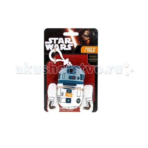 Мягкая игрушка Star Wars Звездные войны Брелок R2-D2Звездные войны Брелок R2-D2Мягкая игрушка Star Wars Звездные войны Брелок R2-D2 - мягкий брелок для ключей или рюкзака порадует любого поклонника космической вселенной Звёздных войн!  Внутрь игрушки встроено электронное устройство, воспроизводящее звуки, которые издавал этот персонаж в фильме Звёздные войны.   Игрушка выполнена из высококачественного текстиля, отлично детализирована.  Размер игрушки около 10 см<br>