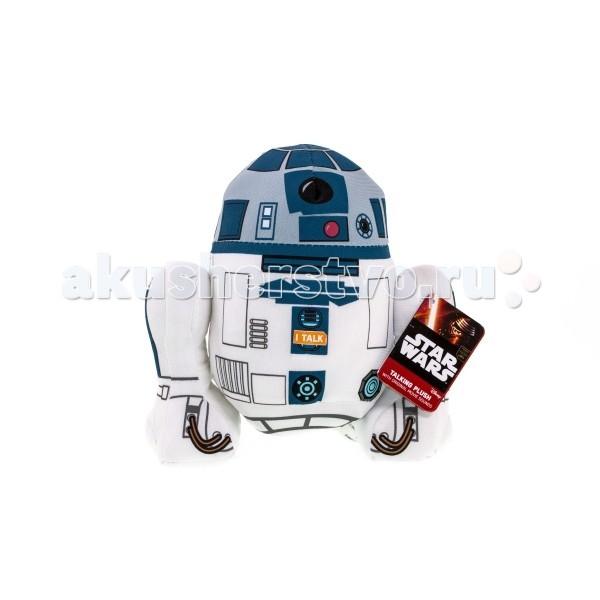 Мягкая игрушка Star Wars Звездные войны R2-D2 плюшевый со звукомЗвездные войны R2-D2 плюшевый со звукомМягкая игрушка Star Wars Звездные войны R2-D2 плюшевый со звуком - желанный выбор для любого поклонника культовой космической саги, независимо от возраста!  Внутри игрушки находится электронное устройство, которое в точности воспроизводит звуки, издаваемые дроидом в фильме!  Для создания игрушки использованы качественные, экологические чистые, гипоаллергенные материалы, безопасные для здоровья детей.  Внимание! Игрушку нельзя стирать!<br>