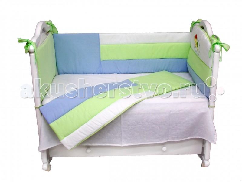 Бампер для кроватки Labeille CapriccioCapriccioБампер в кроватку защитит малыша, пока он маленький. И послужит отличным украшением детской кроватки. Жизнерадостный дизайн бампера Капричио в разноцветную полосочку обязательно понравится Вам и Вашему малышу. Удачное цветовое решение никого не оставит равнодушным, а замечательная аппликация в виде мишки дополнит, разнообразит и освежит интерьер детской комнаты.  Бампер Капричио изготовлен из 100% хлопка, включая нить для швов. Аппликация выполнена по специальной технологии, которая позволяет сохранить ее в первозданном виде даже после многочисленных стирок. Только гладить рекомендуется с обратной стороны или через марлю.   Изготовлен с соответствием с самыми высокими требованиями качества детской продукции. Родители могут быть спокойны за здоровье своего малыша.<br>