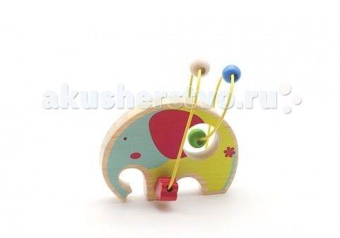 Деревянная игрушка МДИ Лабиринт СлонЛабиринт СлонДеревянная игрушка МДИ Лабиринт Слон.  Каждый ребенок мечтает об увлекательных приключениях в дальних странах. С этим набором зверей вы вручите малышу возможность встретиться с животными жаркой саванны у себя дома! Дружелюбный и яркий дизайн и качественные материалы сделают знакомство с животным миром веселой и безопасной игрой. Игрушки легко помещаются в детскую руку и хорошо катаются по любой поверхности.<br>