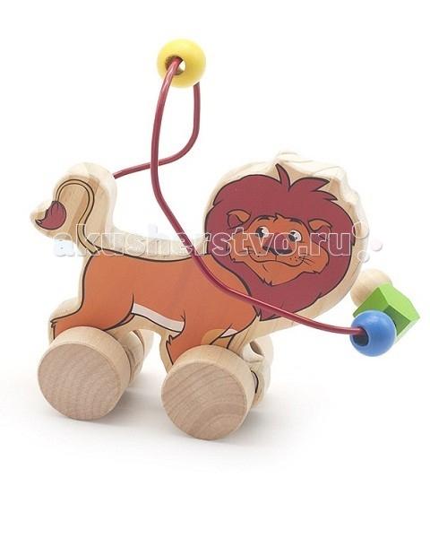 Каталка-игрушка МДИ Лабиринт-каталка Лев
