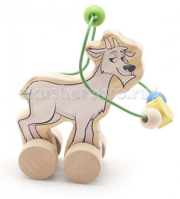 Каталка-игрушка МДИ Лабиринт-каталка Козел