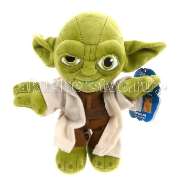 Мягкая игрушка Star Wars Disney Звездные Войны Йода 25 смDisney Звездные Войны Йода 25 смМягкая игрушка Disney Star Wars Звездные Войны Йода 25 см - один из главных героев - мастер Йода, один из самых мудрых и сильных джедаев своего времени. Участник практически всех эпизодов, игравший не последнюю роль в судьбах героев и галактики и так полюбившийся зрителю.   Игрушка изготовлена из гипоаллергенного плюша и безопасна даже для маленьких детей.<br>