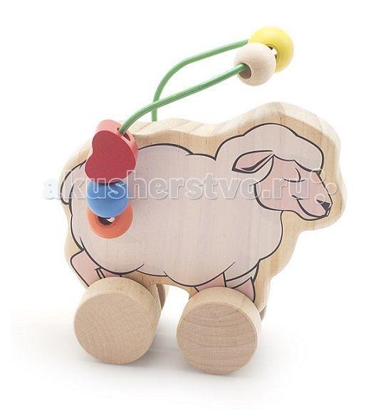 Каталка-игрушка МДИ Лабиринт-каталка Овца