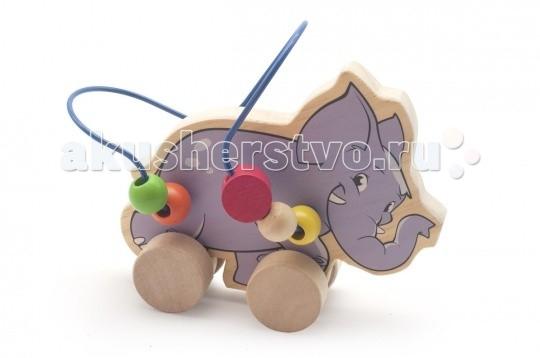 Каталка-игрушка МДИ Лабиринт-каталка Слон