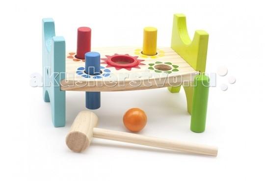 Деревянная игрушка МДИ Стучалка Шарик и гвоздикиСтучалка Шарик и гвоздикиДеревянная игрушка МДИ Стучалка Шарик и гвоздики.  Забиваем разноцветные шарики и гвоздики, учимся координировать движения, силу удара, точность. Игрушка включает в себя два вида стучалок: шариками и гвоздиками. Каждая по своему характеру отличается и направлена на тренировку и развития разных навыков.  Детские игрушки из дерева таят в себе глубокий смысл, это единение с природой, и ваш оберег. Деревянные детские игрушки раскрывают сказочный мир, который живет внутри нас, вместе с ними сказка оживает.<br>