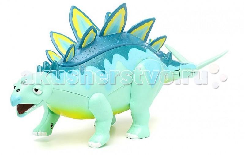 Интерактивная игрушка Tomy Поезд Динозавров Стегозавр Морис 27 см