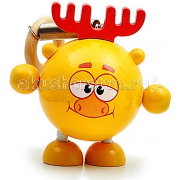 Деревянная игрушка Смешарики Дергунчик Лосяш