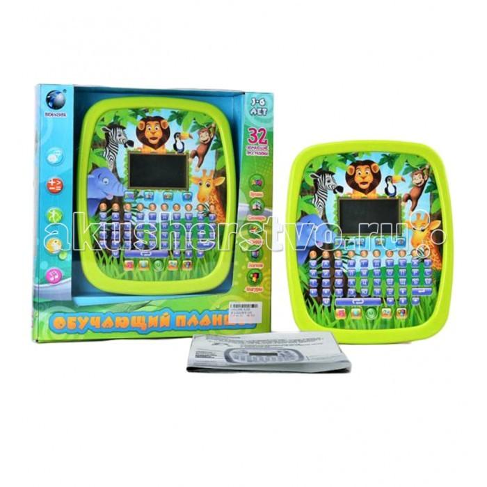 Развивающая игрушка Tongde Обучающий планшет В72290Обучающий планшет В72290Планшет обучающий детский Tongde В72290 - увлекательная развивающая игрушка, которая станет отличным подарком для любознательного ребенка. Игрушка способствует развитию моторики рук, памяти, слуха, ассоциативного мышления, логики и воображения. С помощью такого планшета ребенок в игровой форме выучит буквы и цифры, а так же освоит элементарный счет. Интересная и познавательная игрушка не позволит скучать вашему малышу и даст возможность с пользой провести время.  Основные характеристики:  Размеры упаковки: 26x27x4,5 см Вес: 0.528 кг Объем: 0.0039948<br>