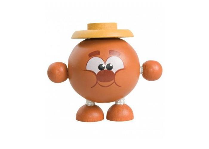Деревянная игрушка Смешарики Дергунчик Копатыч
