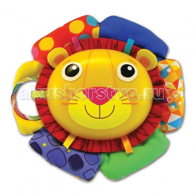 Подвесная игрушка Lamaze музыкальная Лев Логан