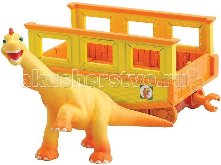 Tomy Набор Поезд Динозавров Нэд с вагончикомНабор Поезд Динозавров Нэд с вагончикомВ набор входят фигурка динозавра Нэд и прицепной вагончик, который может присоединяться к другим элементам железной дороги из серии игрушек Поезд динозавров.   Игровой набор содержит открытый вагончик, который может присоединяться к Поезду Динозавров, и фигурку динозавра Нэд. Размер динозавра: 6 см. Подходит для игры с различными фигурками персонажей Поезда Динозавров. Размер упаковки (ДхШхВ): 17х18х7 см  Мультсериал «Поезд Динозавров» - о приключениях динозаврика Бадди и его друзей завоевал фантастическую популярность среди детей по всему миру. На удивительном поезде динозавров главный герой Бадди отправляется в меж временное путешествие, чтобы исследовать древний мир и познакомиться с другими видами этих замечательных животных.<br>