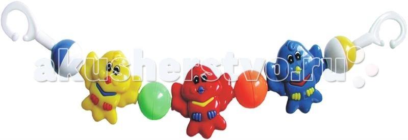 Baby Mix Растяжка на коляску СовятаРастяжка на коляску СовятаПогремушка для коляски BabyMix Art. 136-162P   Функции и особенности :  Эта серия погремушек в коляску подходит для всех типов колясок. Игрушки изготовлены из пластика Способствуют развитию фиксирования взгляда на движущихся предметах Обратите внимание : Погремушка предназначена для возраста малыша, пока он не умеет самостоятельно двигаться. Во избежание случайного запутывания малыша, погремушку следует удалить, когда малыш научится ползать.<br>