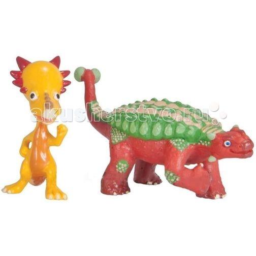 Tomy Набор фигурок Поезд динозавров Хэнк и X-Ray СпайкиНабор фигурок Поезд динозавров Хэнк и X-Ray СпайкиНабор фигурок Хэнк и X-Ray Спайки Tomy (Томи) понравится поклонникам мультсериала Поезд Динозавров. Фигурки динозавров подходят для игры с различными персонажами Поезда Динозавров.   Характеристики: в комплекте две фигурки (Спайки X-Ray - его скелетик светится в темноте) динозаврики подробно детализированы и повторяют своих экранных персонажей блистерная упаковка возраст: от 3 лет и старше материал: пластик  С таким игровым набором Вашему малышу некогда будет скучать! Ведь играя, малыш будет фантазировать и придумывать различные сюжетно-ролевые игры.  Мультсериал «Поезд Динозавров» - о приключениях динозаврика Бадди и его друзей завоевал фантастическую популярность среди детей по всему миру. На удивительном поезде динозавров главный герой Бадди отправляется в меж временное путешествие, чтобы исследовать древний мир и познакомиться с другими видами этих замечательных животных.<br>