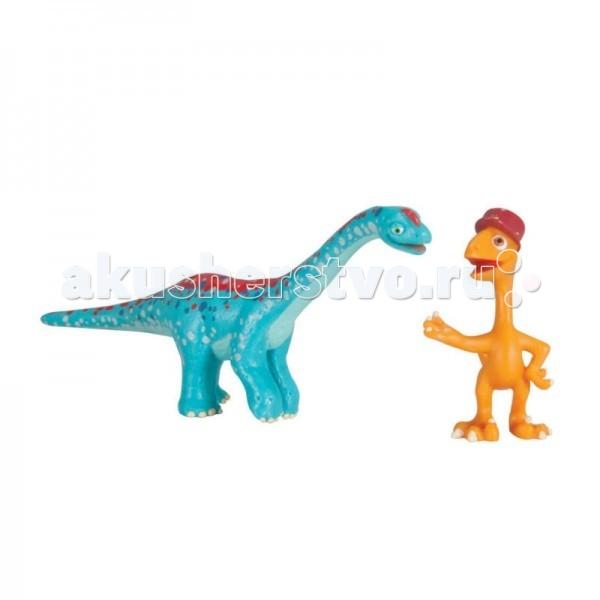 Tomy Набор фигурок Поезд динозавров Арни и X-Ray ГилбертНабор фигурок Поезд динозавров Арни и X-Ray ГилбертНабор фигурок Арни и X-Ray Гилберт Tomy (Томи) понравится поклонникам мультсериала Поезд Динозавров. Фигурки динозавров подходят для игры с различными персонажами Поезда Динозавров.   Характеристики: в комплекте две фигурки (Гилберт X-Ray - его скелетик светится в темноте) динозаврики подробно детализированы и повторяют своих экранных персонажей блистерная упаковка возраст: от 3 лет и старше материал: пластик  С таким игровым набором Вашему малышу некогда будет скучать! Ведь играя, малыш будет фантазировать и придумывать различные сюжетно-ролевые игры.  Мультсериал «Поезд Динозавров» - о приключениях динозаврика Бадди и его друзей завоевал фантастическую популярность среди детей по всему миру. На удивительном поезде динозавров главный герой Бадди отправляется в меж временное путешествие, чтобы исследовать древний мир и познакомиться с другими видами этих замечательных животных.<br>