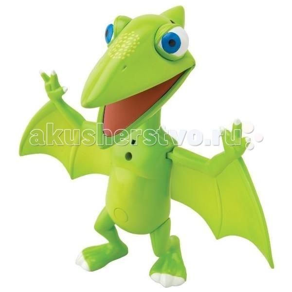 Интерактивная игрушка Tomy Поезд Динозавров Тайни 17 см