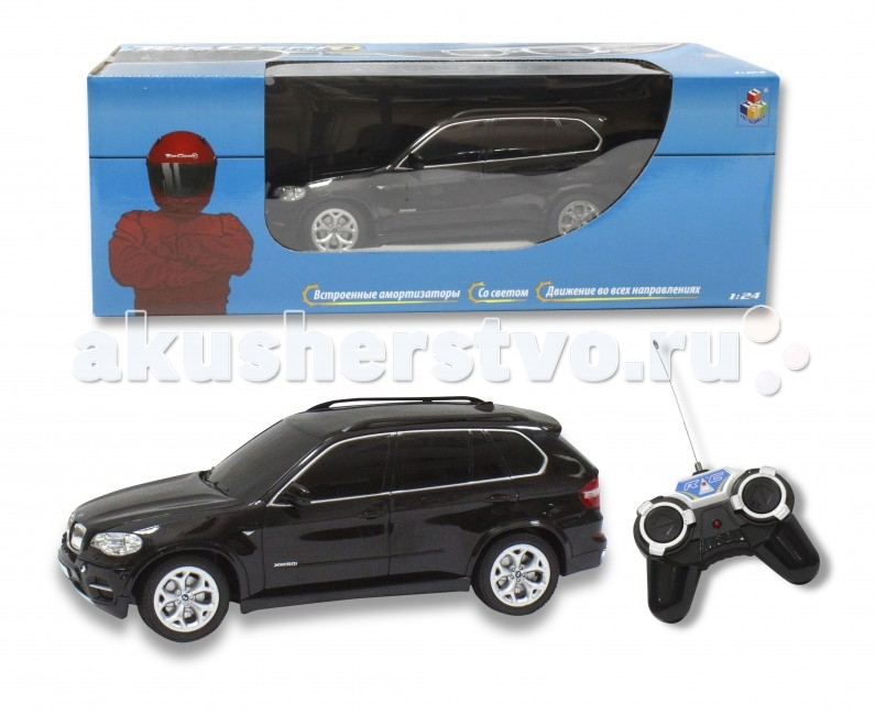1 Toy Topgear Машина на радиоуправлении BMW X5 1:24