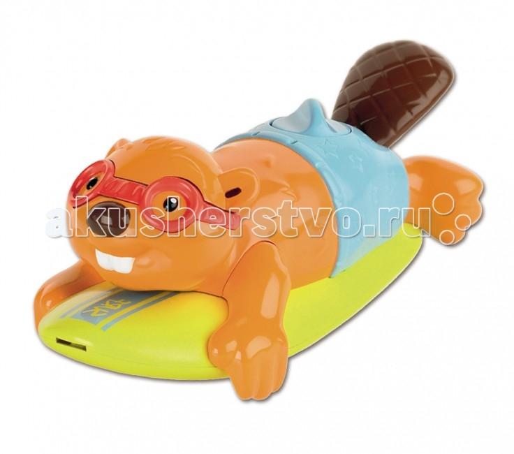 Tomy Игрушка для ванны Бобер-серфингист