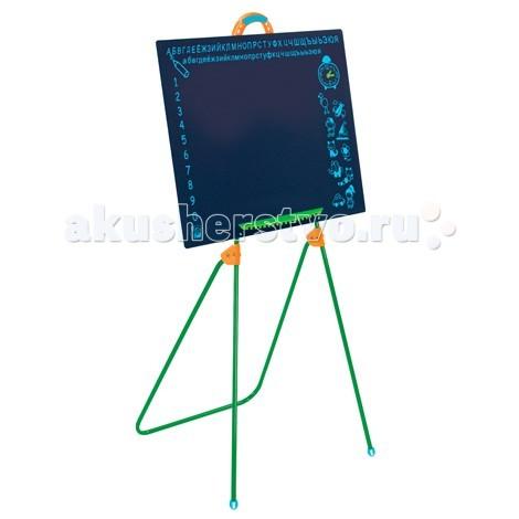 G.B.Fabricantes Игровая школьная доска на ножкахИгровая школьная доска на ножкахG.B.Fabricantes Игровая школьная доска на ножках - выполнена из оргалита, с элементами из пластмассы и металла.  Чтобы развивающие занятия с ребенком больше напоминали школьные уроки Вы можете приобрести подвесную доску. На ней можно учится писать буквы, рисовать картинки мелками и чертить геометрические фигуры. Малышу понравится играть с доской и в процессе развлечения он, сам того не замечая, будет запоминать алфавит, цифры и учиться рисовать.   Занимаясь, ребенок расширяет кругозор и готовится к школьной программе.  Размер: 63 х 46 см Высота доски вместе с ножками: 113 см<br>