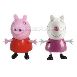 Peppa Pig Игровой набор Пеппа и Сьюзи 5 см