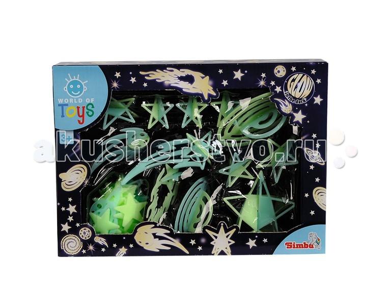 Simba Набор светящихся наклеек Звездное небо 3D