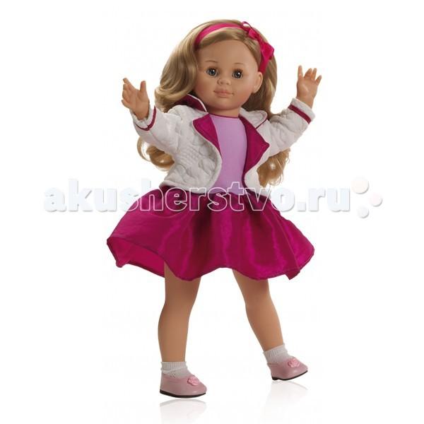 Paola Reina Кукла Иза 47 смКукла Иза 47 смКукла Paola Reina Иза 47 см   Особенности: Внутри у куклы остов, это позволяет кукле двигать руку не только на 360 градусов вдоль тела, но и отставлять ее в сторону.  То же самое и с ногами.  Ни локти, ни коленки не сгибаются.  Может сгибаться в талии, но из-за того, что плотно набито тряпичное тело и таким образом она без талии, то сгибается только немного.<br>