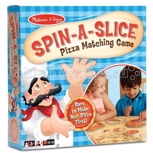 Настольная игра Приготовь пиццу. Деревянный набор