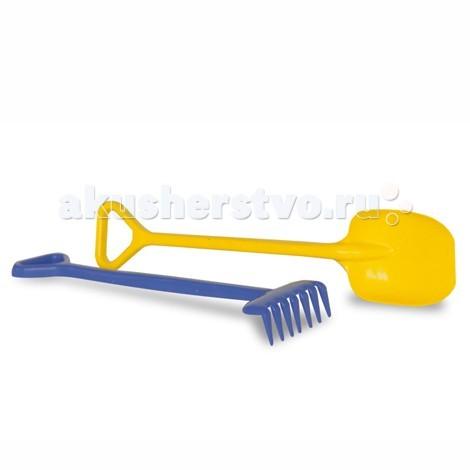 Unice Песочный набор лопата+грабли
