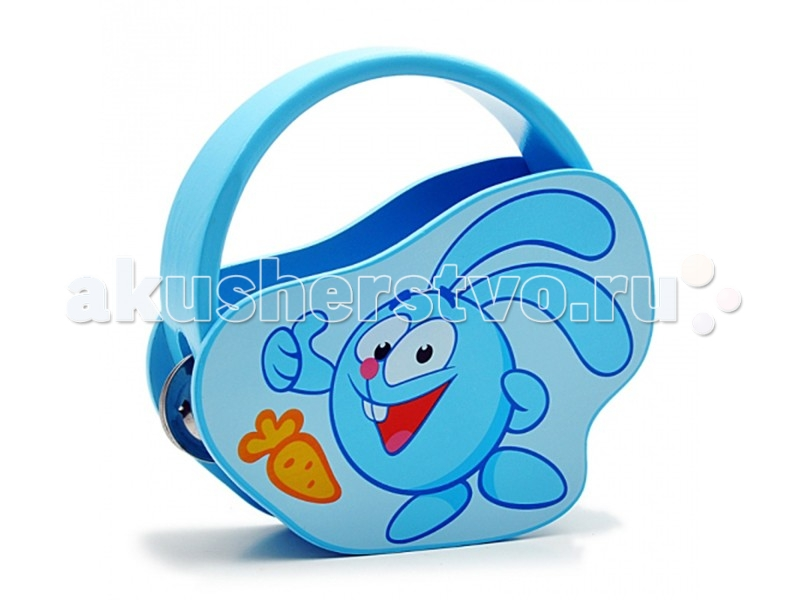 Музыкальная игрушка Смешарики Бубен Крош