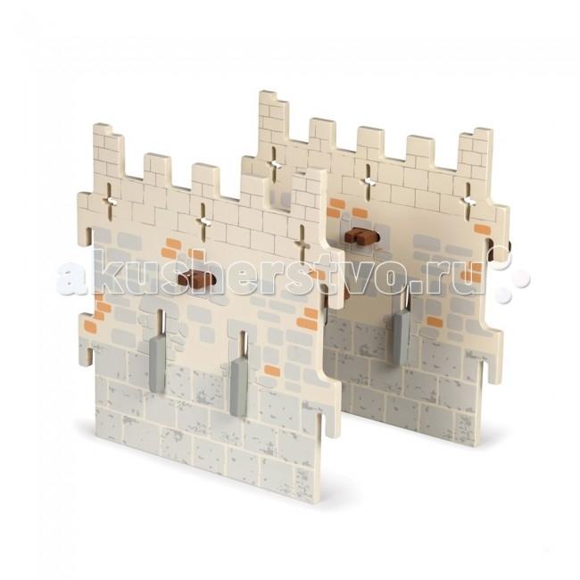 Papo Замок рыцарей 6Замок рыцарей 6Papo Замок рыцарей 6 (2 узкие съемные стены) прекрасный подарок Вашему ребенку. Игра с замком способствует развитию эмоционального восприятия окружающего мира, воображению, творческих способностей, логического мышления, координации и мелкой моторики рук.   С помощью фигурок Papo дети смогут создать свой зоопарк, побывать на рыцарском турнире, спасти прекрасную принцессу от злых пиратов или заглянуть в доисторические времена.<br>