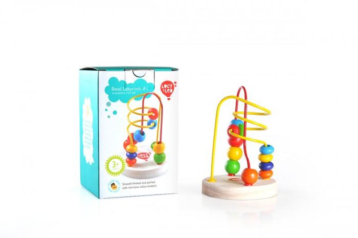 Деревянная игрушка Lucy & Leo Лабиринт 1