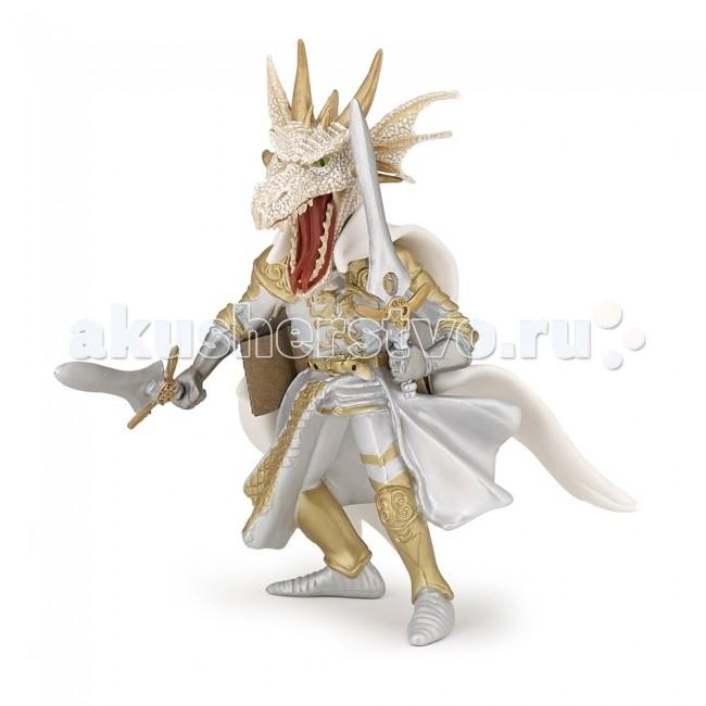 Papo Игровая реалистичная фигурка Белый человек дракон