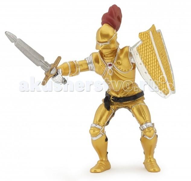 Papo Игровая реалистичная фигурка Рыцарь в золотых доспехахИгровая реалистичная фигурка Рыцарь в золотых доспехахPapo Игровая реалистичная фигурка Рыцарь в золотых доспехах   Особенности: Ручная роспись.  Все фигурки Papo проходят тщательную подготовку и обработку, поэтому они крепкие и долговечные. Материал: высококачественный полимерный материал.<br>