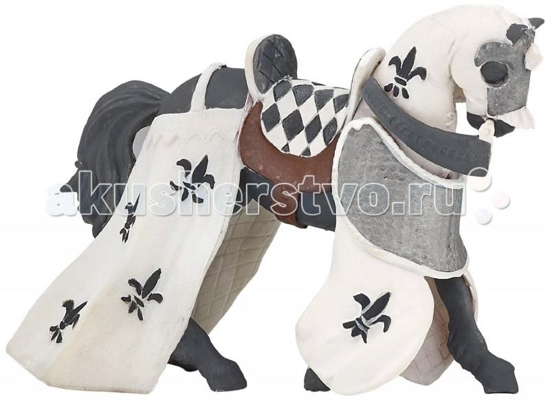 Papo Игровая реалистичная фигурка Белая драпированная лошадьИгровая реалистичная фигурка Белая драпированная лошадьPapo Игровая реалистичная фигурка Белая драпированная лошадь   Особенности: Ручная роспись.  Все фигурки Papo проходят тщательную подготовку и обработку, поэтому они крепкие и долговечные. Материал: высококачественный полимерный материал.<br>